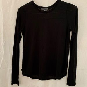 Vince Black Long Sleeve Size Small